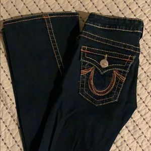 True Religion Joey Rainbow bootcut Jean Size 27